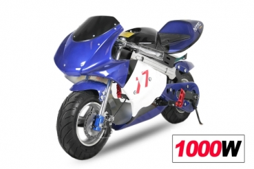 elektro pocket bike 36 volt 1000 watt motocross. Black Bedroom Furniture Sets. Home Design Ideas