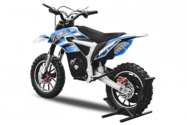 elektro dirt bike nitro gepard 24v 500w lead motocross. Black Bedroom Furniture Sets. Home Design Ideas