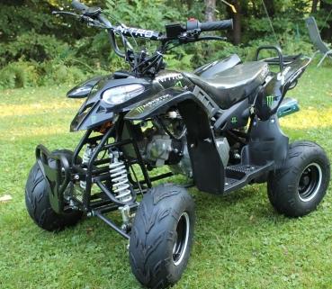 125cc 4 takt quad nitro razer 6 zoll automatik motocross. Black Bedroom Furniture Sets. Home Design Ideas