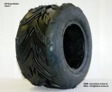 quad reifen 7 zoll 16x8 7 kinderquad motocross. Black Bedroom Furniture Sets. Home Design Ideas