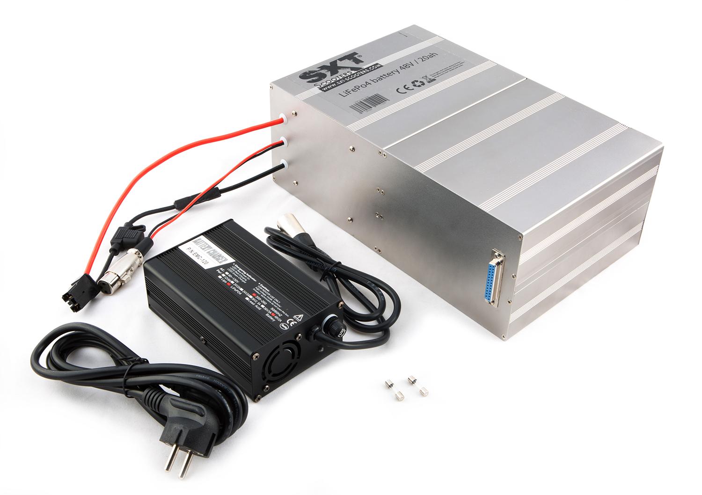 akku 48 volt 20 ah lifepo4 lithium batterie sxt. Black Bedroom Furniture Sets. Home Design Ideas