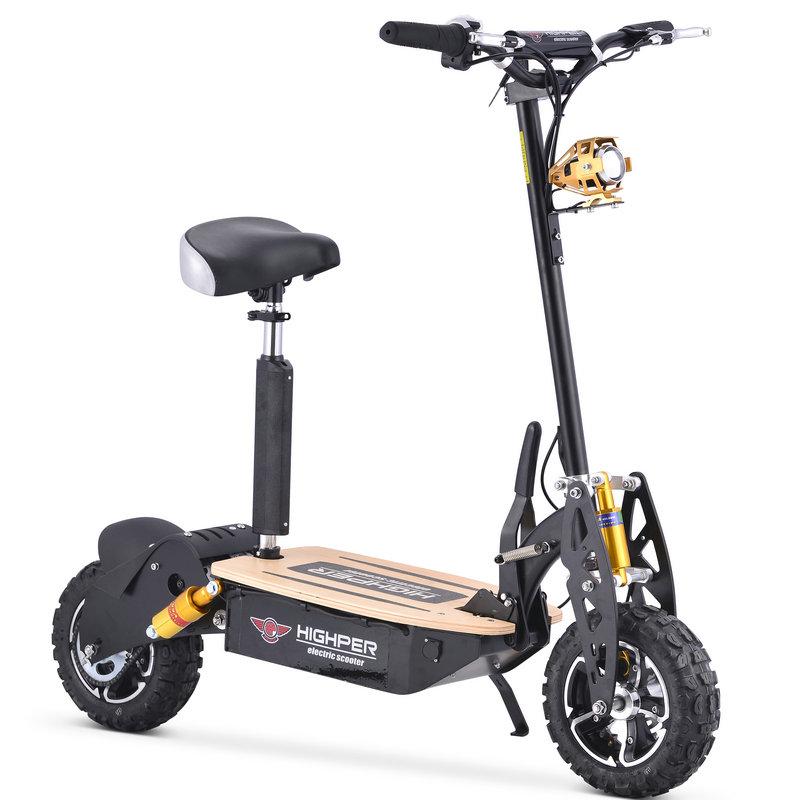 elekro scooter highper 48 60 volt 1600 2000 watt xxl 6 5. Black Bedroom Furniture Sets. Home Design Ideas