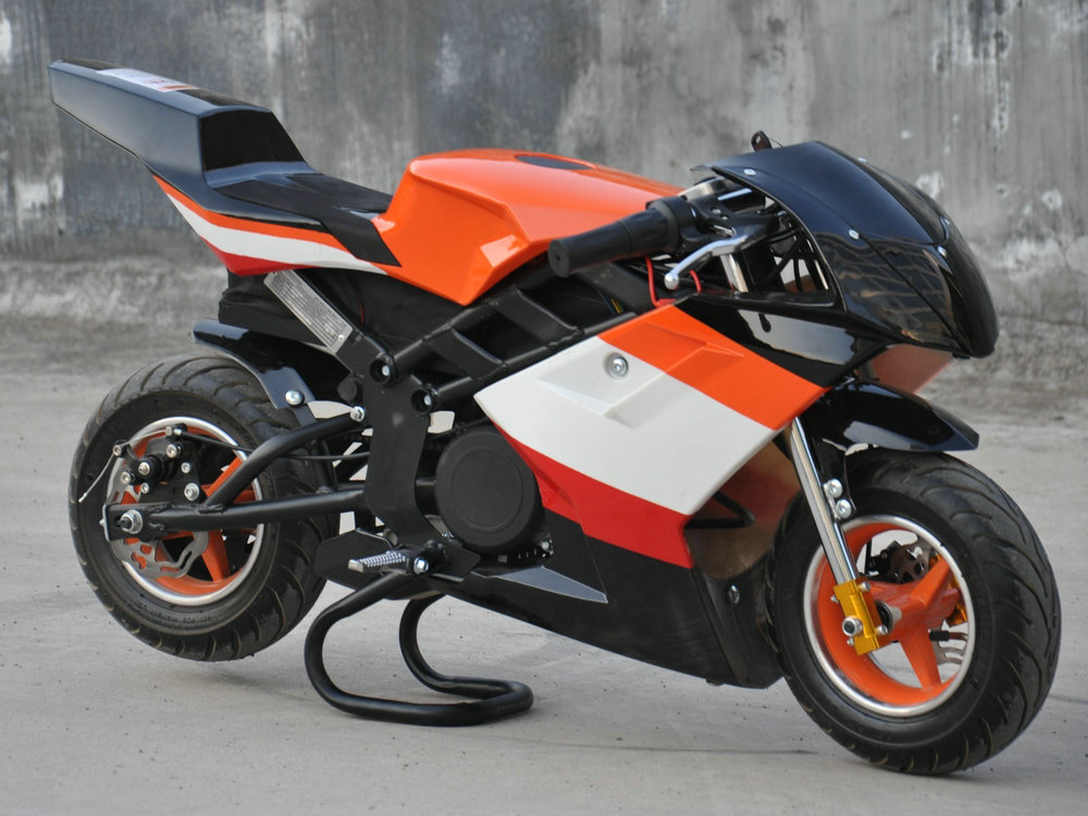 elektro pocket bike 36 volt 1060 watt motocross. Black Bedroom Furniture Sets. Home Design Ideas