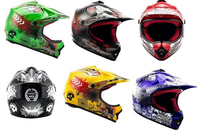 kinder cross helm arox in verschiedenen farben und gr en motocross kindermotorrad pit dirt. Black Bedroom Furniture Sets. Home Design Ideas