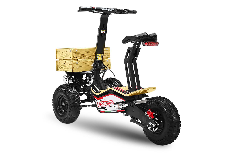 original velocifero mad truck 18 volt 1600 watt elektro scooter motocross kindermotorrad pit. Black Bedroom Furniture Sets. Home Design Ideas