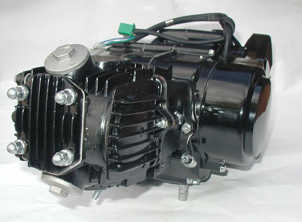 Motor 125 4 Gang Honda Dax Nachbau - Motocross Kindermotorrad Pit ...