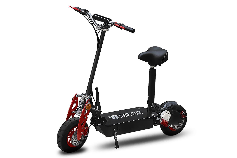 elektro scooter nitro 48 volt 1000 watt xxl reifen 6 5. Black Bedroom Furniture Sets. Home Design Ideas