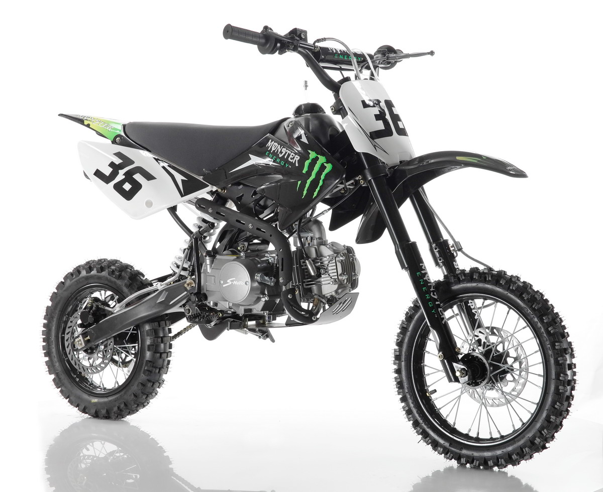 TOP 125cc Cross Bike von S-Moto - Motocross Kindermotorrad Pit Dirt ...
