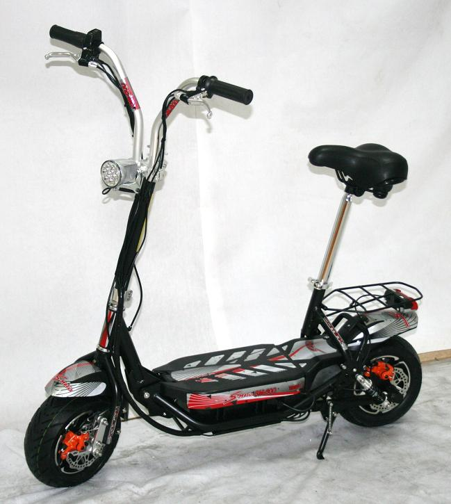 elektro scooter 36 volt nabenmotor 500 watt. Black Bedroom Furniture Sets. Home Design Ideas